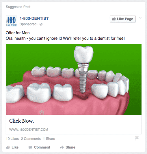 Dental Web Marketing - Advertisement