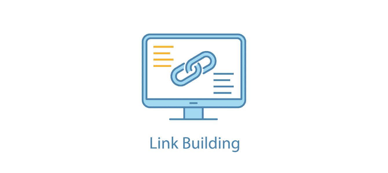 Computer with link building